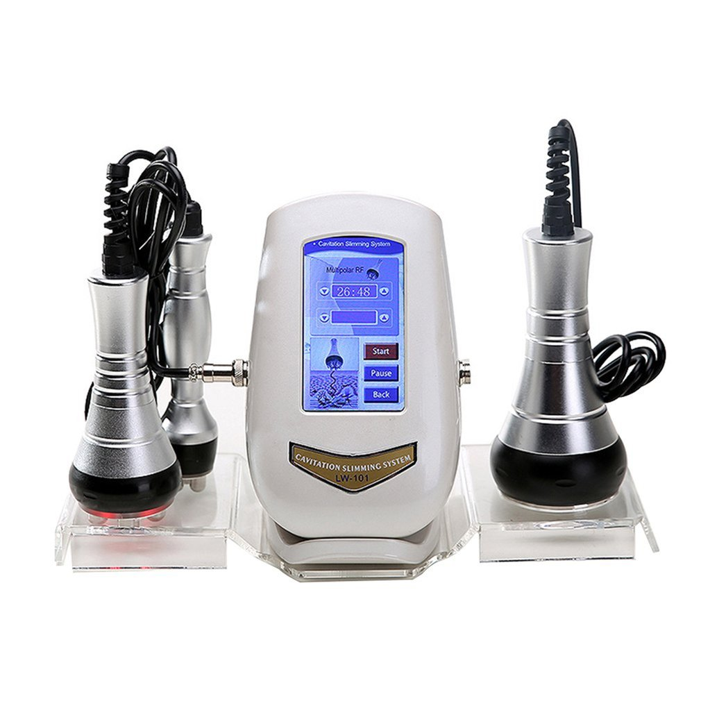 Handheld Wire Control Home Use 40K RF Body Weight Loss Slimming Ultrasound Fat Cavitation Beauty Skin massager relaxation tool