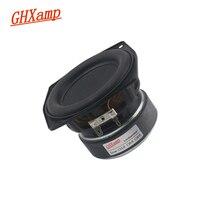 Ghxamp 4 인치 105mm 미드 우퍼 스피커 대형 고무 사이드 롱 스트로크 4ohm 40w베이스 피어싱 스피커 4 ohm 40 w