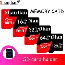 Mini Tarjeta TF de alta velocidad, Tarjeta de memoria Flash de alta calidad, Clase 10, 1TB, 128GB, 32GB, 16GB, 64GB, Sd inteligente, regalo gratis