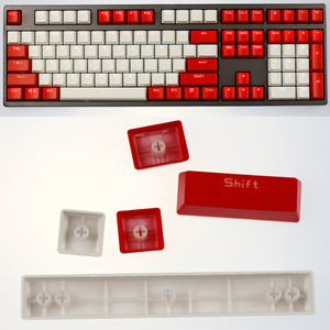 Image 5 - Top Printed Cherry/SKY Theme  104 Key Keycaps Keys Caps Set for Mechanical Keyboard for Gaming Mechanical Keyboard MX keycaps