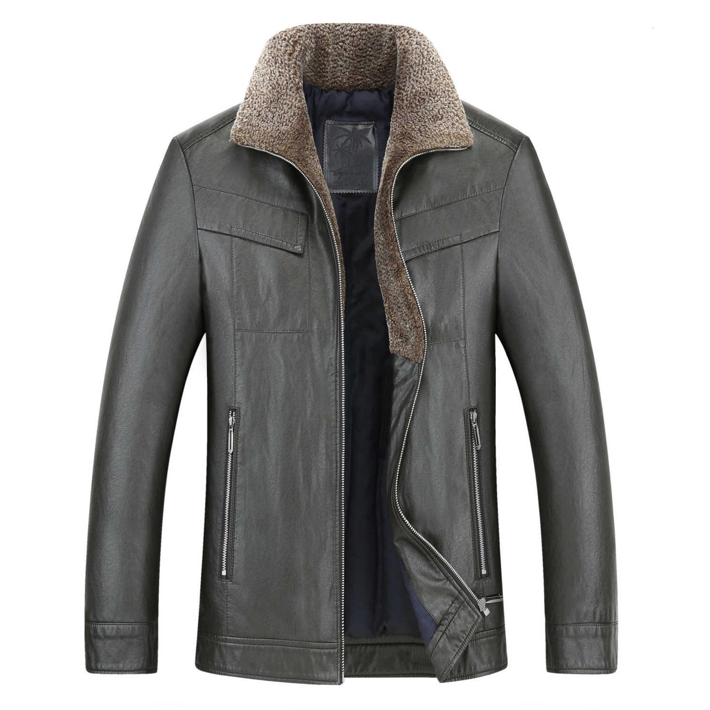 New Big Plus Size 10XL 9XL  8XL Sheepskin Coat  Men  Genuine Leather  Mens Jacket High Quality Thicken Locomotive Leather Jacket