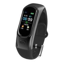 H109 Sports Bt Earphone Watch Intelligent Heart Rate Blood Pressure Waterproof Fitness
