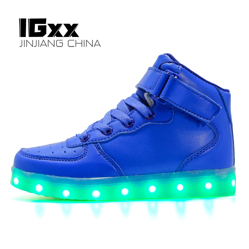 Gift USB Charging Glowing Shoes LED
