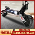Macury Speedual Mini 8 inches dual motor electric scooter 52V1600W off-road 55km/h double drive 8 inch solid tire zero8x zero 8X