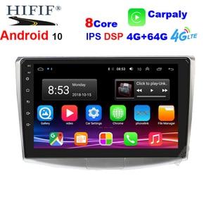 2 Din Auto Radio Android 10 dsp For VW/Volkswagen/Magotan/CC/Passat B6 B7 RAM 4GB ROM 64G Car Multimedia Player GPS USB DVR FM