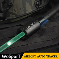 Airsoft Auto Tracer Lighter S Tracer Unit for Pistol Green Smallest Lightest Tracer Unit Handgun War Game Airsoft Accessories