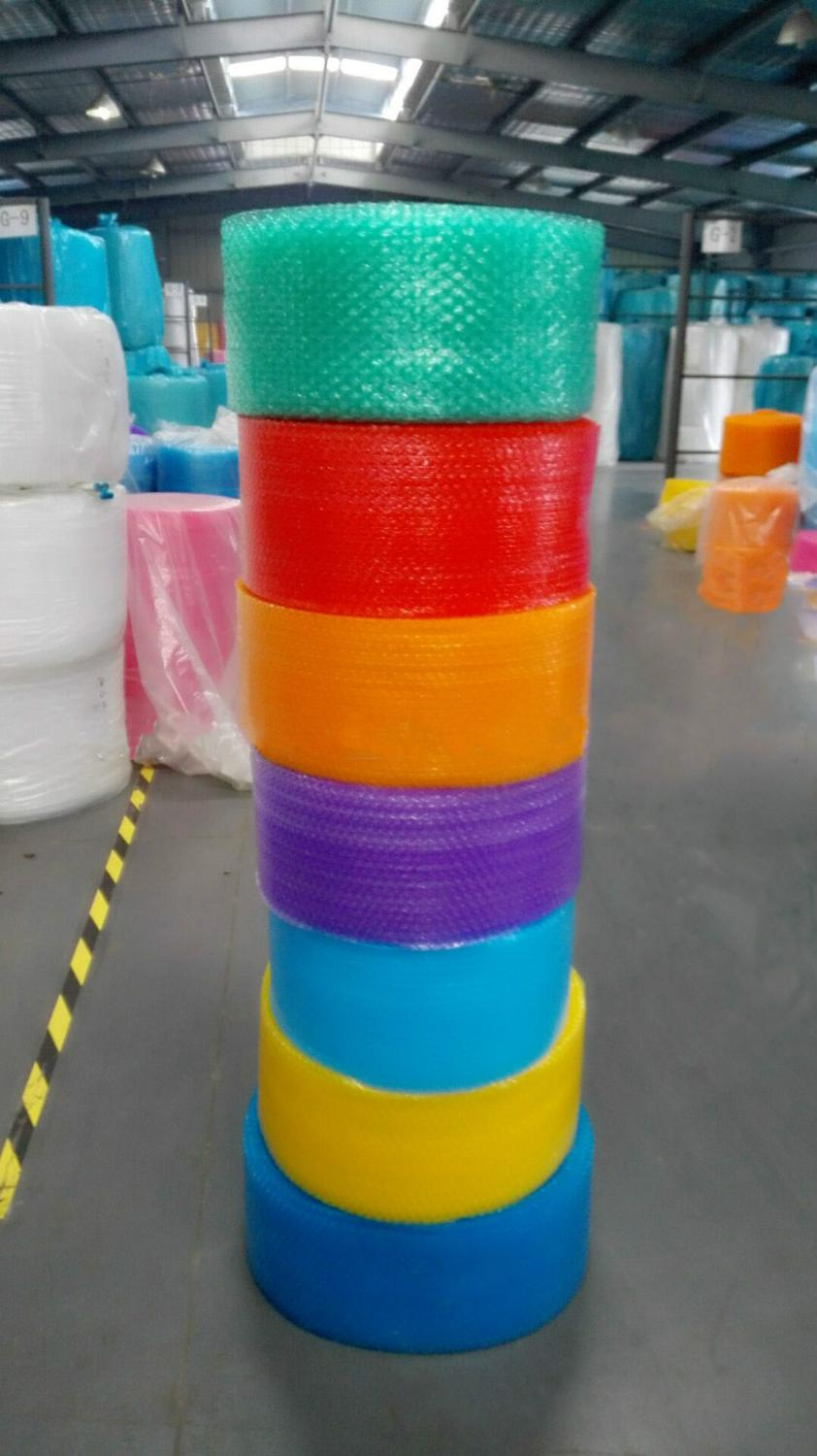 40cm Wide 20M Thick Air Cushion Film Air Cushion Bubble Roll Air Cushion Packaging Lovely Heart Shape