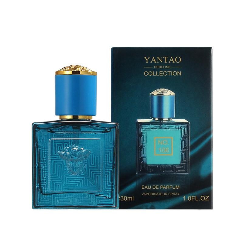 JEAN MISS 30ml Perfume Men Glass Bottle Male Parfum Wood Flavor Lasting Fragrance Spray Original Gentleman Perfume For Men