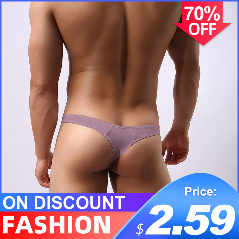 Free Shipping Cotton Sexy Gay Underwear Men Thong Men Jockstrap Gay Thongs G String Men Penis Pouch Gay Underwear Sexi AD313