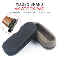 Tactical Airsoft Tactical Shockproof Rubber AK Stock Pad AK47 Recoil Armas BUTT Stock Pad Rifle Gun Accessories MP05003