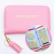 BORN PRETTY 24 Slots Holo Snakeskin Stamping Plate Colletion Holder Nail Art Plate Organizer