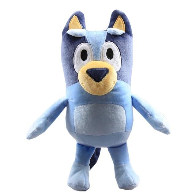 1Pair 28CM Plush Toy Cute Soft Cartoon Dog Family Stuffed Animals Dolls Baby Toys Kawaii Children Gift 2