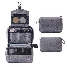 Portable Hanging Toiletry Bag Travel Bag with Hook Waterproof Makeup Cosmetics Bag Bathroom Shower Bag for Travel