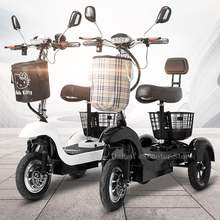 12 дюймовый Электрический трехколесный скутер 3 колесных электрических