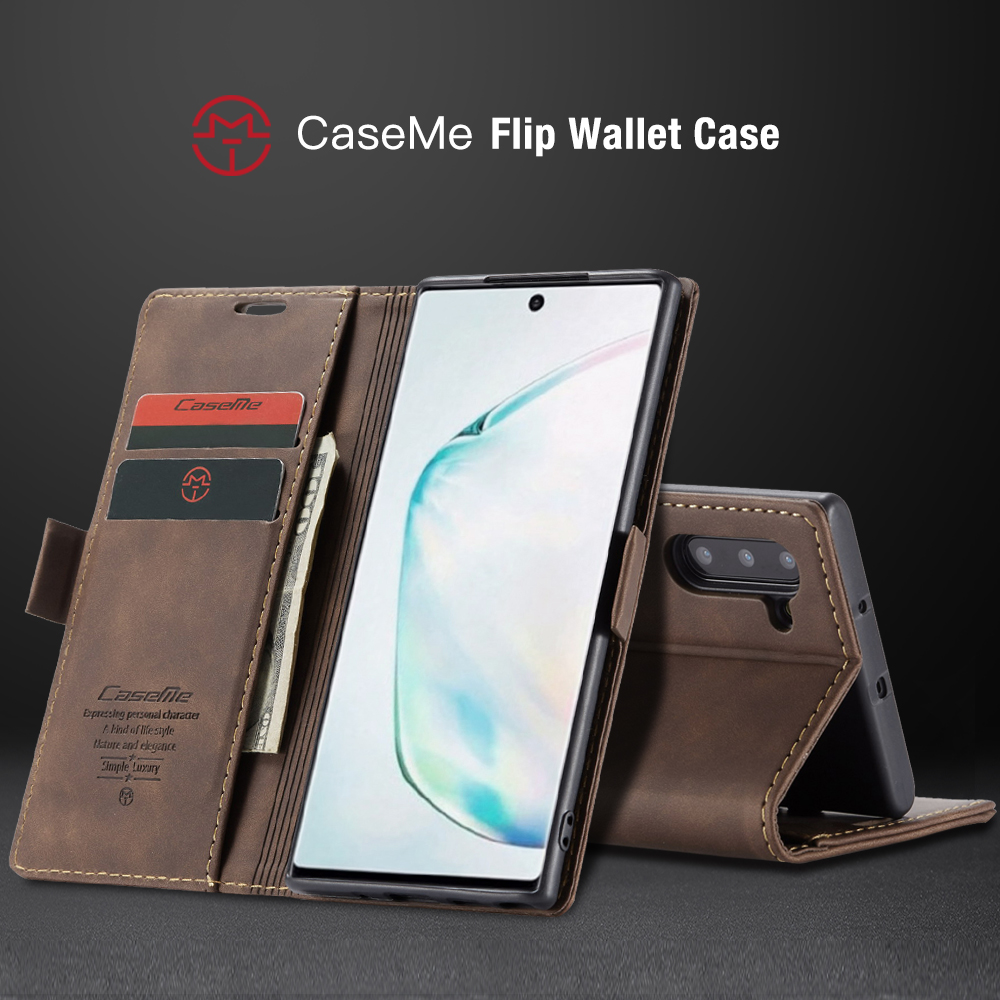 Note 10 case for Samsung Galaxy Note 10 Pro vintage flip phone case leather case Magnetic wallet for Samsung note 10 case