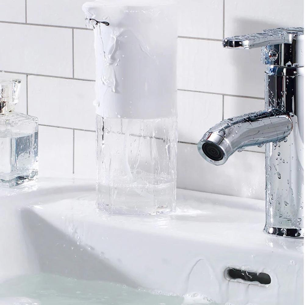 H63aa13da2c964b73ad32db9eefbd2966w - 350ml Bathroom Automatic Soap Dispenser USB Charging Infrared Induction Foam Kitchen Hand Sanitizer Touch Bathroom Accessories