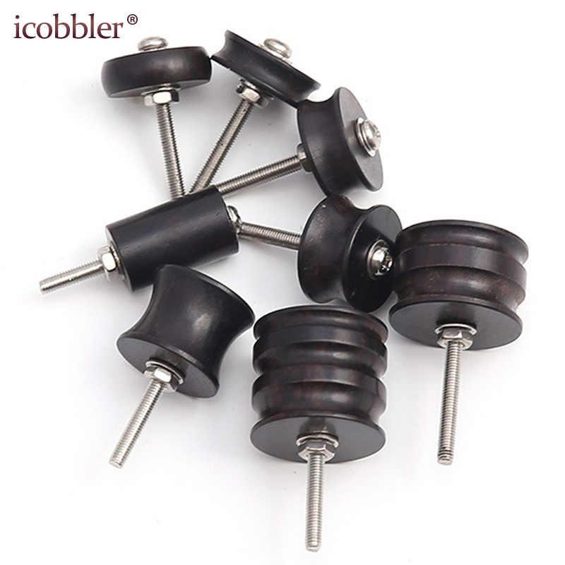 DIY Leder Schleifen Werkzeuge Mini Tragbare Bohrer Vielseitig Polieren Maschine Bits Werkzeuge Kit Lila Sandelholz Schleifen Kopf Anzug