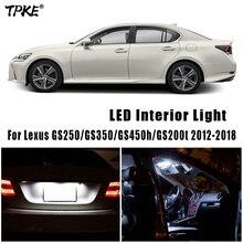 Canbus For Lexus GS 300 400 430 350 450h 250 200t GS300 GS400 GS430 GS450h GS250 GS200t 1991 2018 LED Interior Light