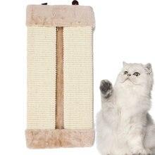 Коврик Когтеточка для кошек и котят складная подстилка из сизаля