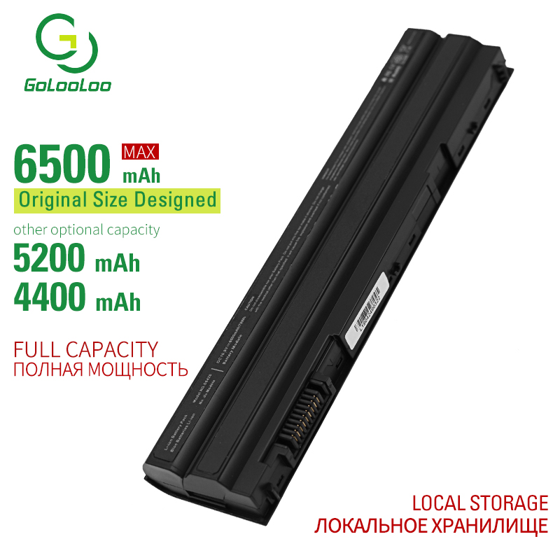 Golooloo 6500mAh New laptop battery for Dell Inspiron 15R (7520) Latitude <font><b>E5420</b></font> <font><b>E5420</b></font> ATG E5420m E5430 E5520 E5520m E5530 E6420 image