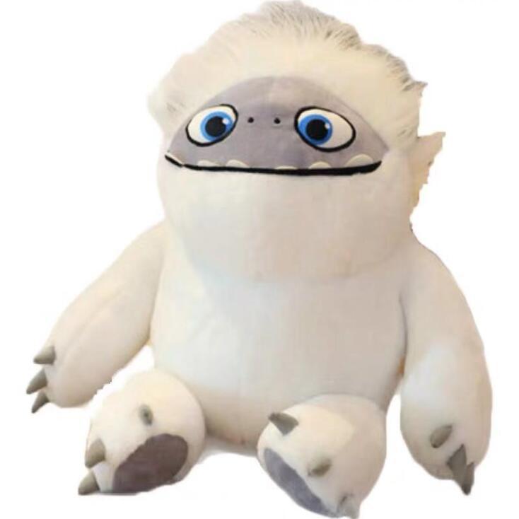 Snow Monster Dolls Snow Monster Pillow Snowman Romance Cartoon Cartoon Snow Monster Plush Doll Children Cute Gift Toy Pillow