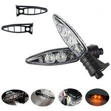 Clignotant LED de moto, 1 paire, assemblage de lampe, couvercle de protection pour BMW HP4 S1000R R1200GS R1200RS