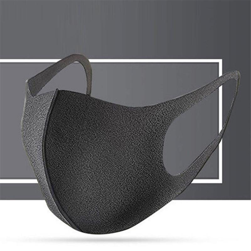 Washable Cotton Three-dimensional Mouth Mask Anti Dust Mask Activated Carbon Windproof Mouth-muffle Proof Flu Face Mask