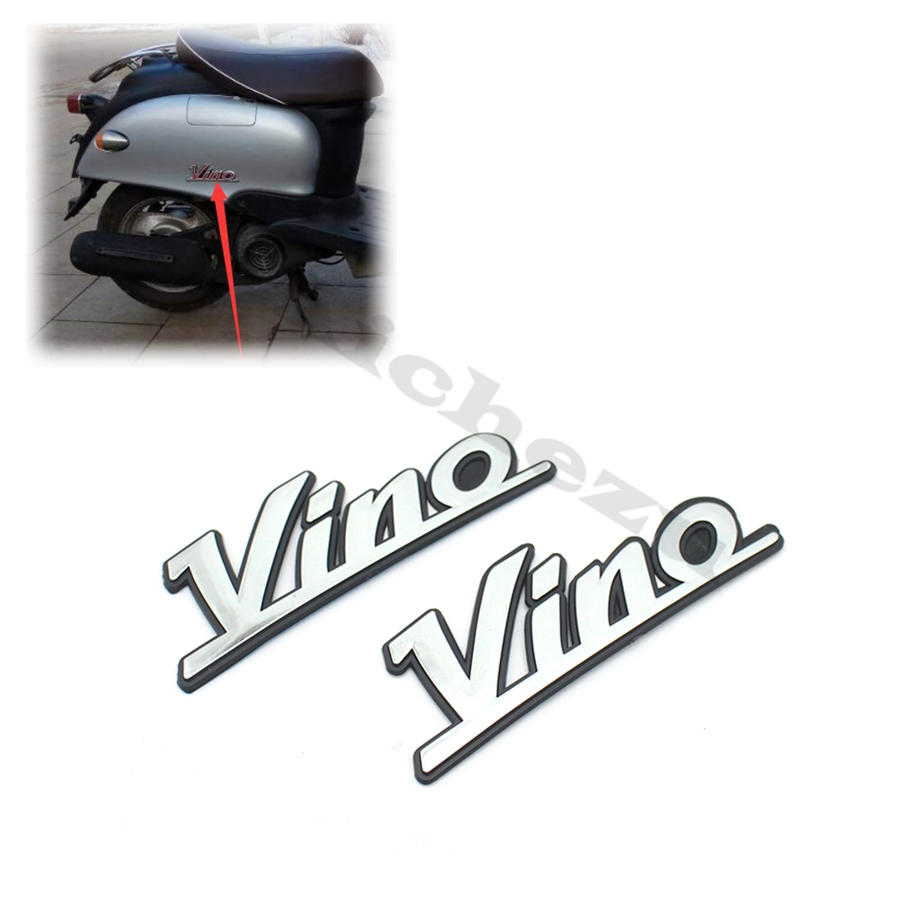 ACZ Motorcycle Scooter Body Fairing Decal Plating Stereo Logo Sticker Body Sticker Fit For Yamaha VINO 5AU