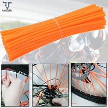 Motorcycle Dirt Decoration Motocross Wheel Spoke Wraps Rims Skins Protector Covers Decor for KTM EXC EXCF EXC F 125 250 450