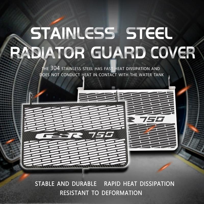 Capa cooler para motocicleta, proteção para radiador, óleo, para moto, 2011 2012 2013 2014 2015, gsr750, GSX-S, 750, gsx, s750/s 750,