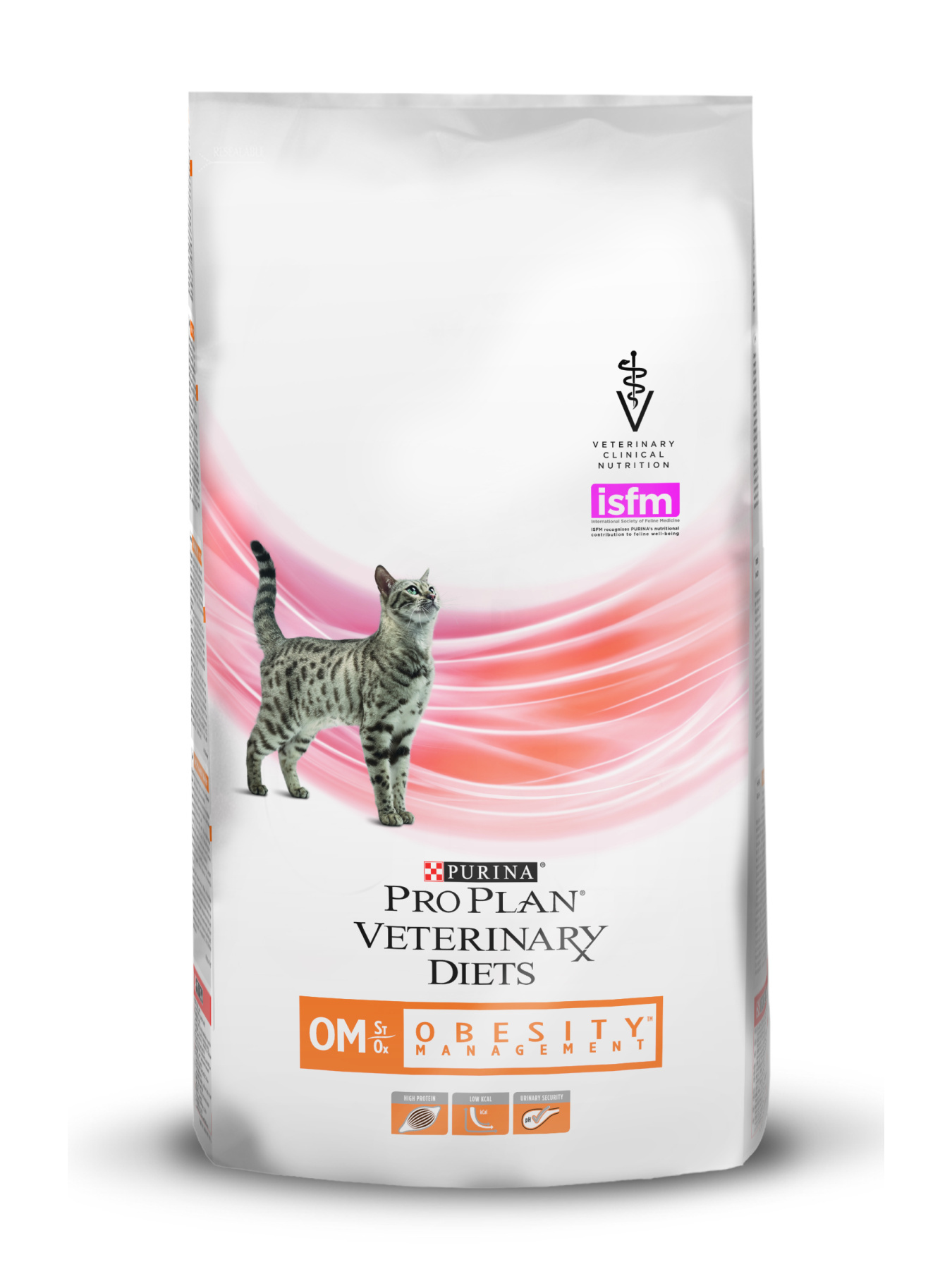 Pro Plan Veterinary Diets OM Obesity Management food for cats with obesity, 1,5 kg image