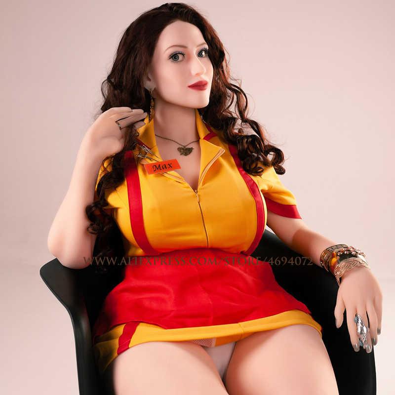 145 см настоящая секс Силиконовая секс-Кукла Реалистичная грудь Вагина анальный Металлический Скелет Мужская мастурбация взрослые игрушки реальные секс-куклы