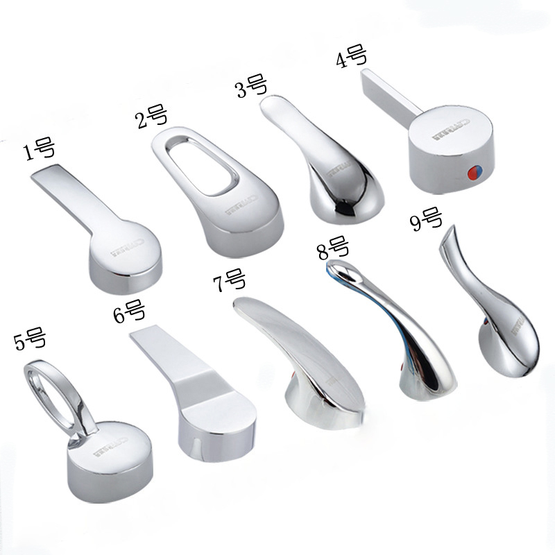 Basin Hot And Cold Water Faucet Accessories  35 Mm 40mm Valve Element Handle Zinc Alloy Switch Handle