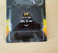 Retro DIY 340 in 1 Spiel Patrone Mit Einzelhandel Box für 64 Bit Video Spiel Konsole NTSC & PAL Unterstützt karte
