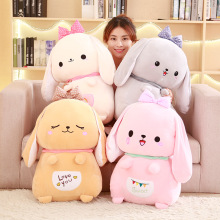 Cute rabbit plush toys Bunny Stuffed &Plush Animal Baby Toys doll baby accompany sleep toy gifts For kids fancytrader large plush bunny doll lovely soft stuffed cartoon rabbit kids toys gifts pink purple for chilren 100cm