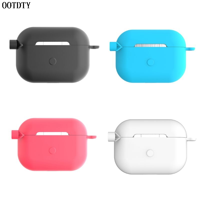 Shockproof Scratch-Resistant Silicone Protective Cover Case Shell Protector for AirPods Pro Wireless Earphones Charging Box