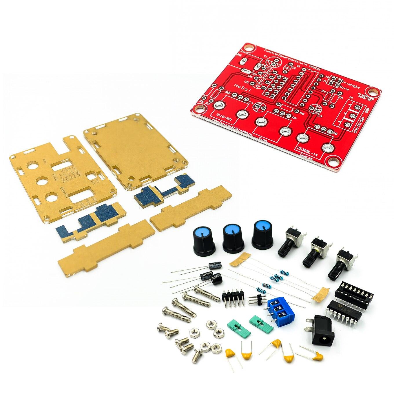 Генератор сигналов XR2206, функциональный синусоидальный/прямоугольный генератор, регулируемая амплитуда, 1 гц-1мгц, комплект «сделай сам»