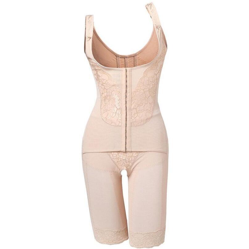 Image 2 - Women Bodysuits  Waist corset shapers magic slimming Shapewear lady body shaper slimming legs tummy Female shapewearBodysuits   -