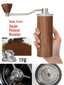 Coffee-Grinder Miller Milling-Machine Manual Aluminum Portable 45MM XEOLEO Mini 15g Silver/gold
