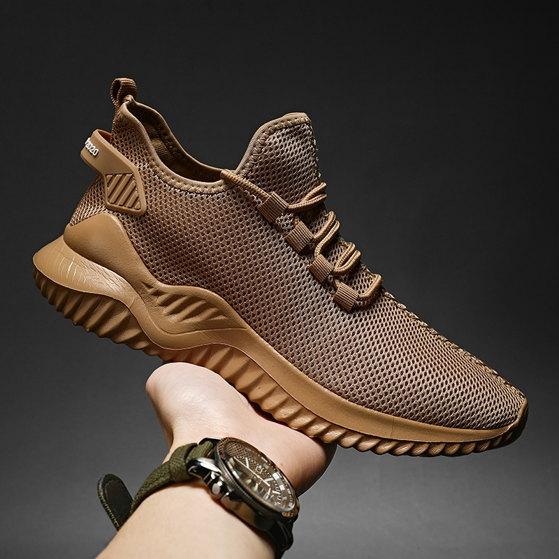 Summer Breathable Sneakers Men Lightweight Casual Men Shoes Big Size Walking Shoes 2021 New High Quality Comfortable Sneakers