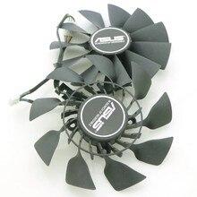 Fd9015u12s t129215su 95mm ventilador de vídeo para asus matrix r9 280x 290x gtx780ti gtx980 gtx970 ventilador de refrigeração da placa gráfica
