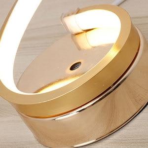 Image 4 - Modern LED Table Lamps Indoor Decoration Desk Lights Bedroom Reading Lighting 24W EU/US Plug Bedroom Study Desk Lamp Nordic