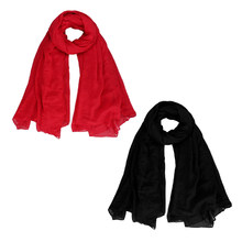 Women's Pure Cotton Oversize Envelope Scarf Shawl Comfortable Cover(China)
