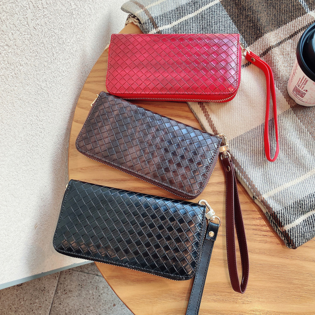 高級地紋クラッチ4.0〜6.7サイズユニバーサル携帯財布Fhx 21T iphoneサムスンhuawei社xiaomi電話バッグ