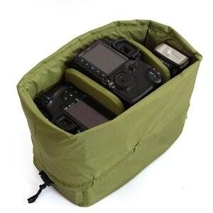 Image 3 - RISE กันน้ำใส่ Partition กระเป๋ากล้องเลนส์สำหรับกล้อง DSLR SLR