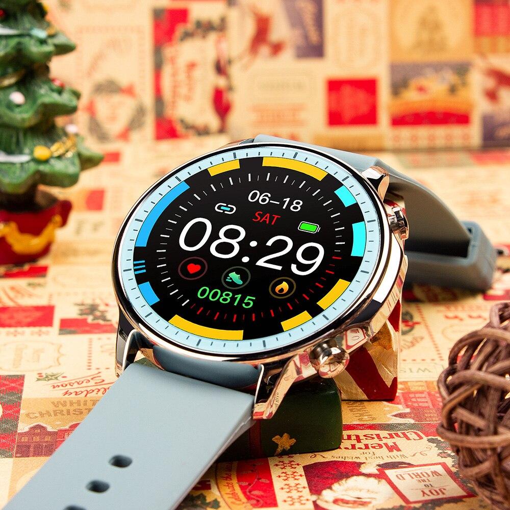 H63ad89a92f1f41d196bd4558ab639cd0b COLMI V23 Women Smart Watch Full Touch Fitness Tracker IP67 Waterproof Blood Pressure Smart Clock Men Smartwatch