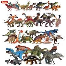 Oenux – figurines d'action du parc du monde des dinosaures, Jurassic Indominus Rex pterosaure stegosaure, modèle de Collection en PVC, jouet pour enfant, cadeau