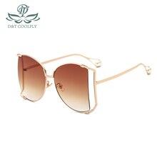 D&T 2020 New Fashion Cateye Shield Sunglasses Women Men Luxu