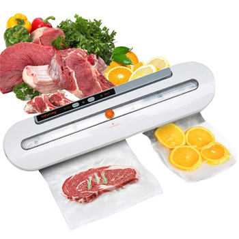 Home Electric Vacuum Sealer Packaging Machine Commercial Household Automatic Food Vacuum Sealer Mechine Including 10pcs Bags home vacuum sealer automatic electric vacuum food sealer packaging machine 220v 110v electric kitchen vacuums sealing machine