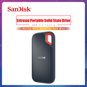 Image 1 - SanDisk Extreme נייד SSD 1TB 500GB 550M חיצוני כונן קשיח SSD USB 3.1 HD SSD כונן קשיח 250GB מצב מוצק דיסק עבור מחשב נייד